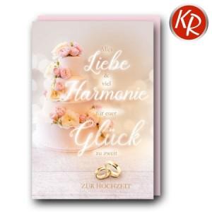 Faltkarte Hochzeit  51-0270