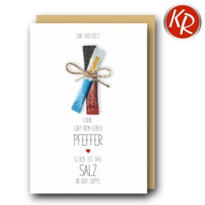 Faltkarte Hochzeit  51-0271