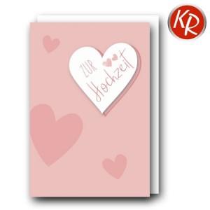 Faltkarte Hochzeit  51-0272