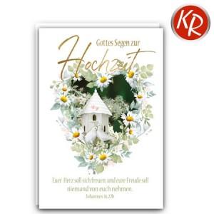 Faltkarte Hochzeit  51-0274