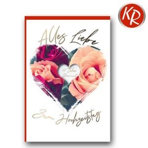 Faltkarte Hochzeitstag 56-0045
