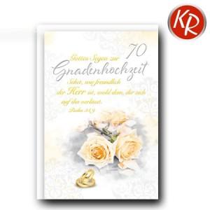 Faltkarte Gnadenhochzeit 56-0040