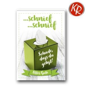 Faltkarte Abschied 60-0207