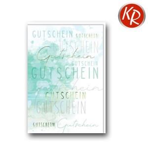 Faltkarte  Gutschein 65-0020