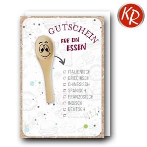 Faltkarte  Gutschein 65-0026