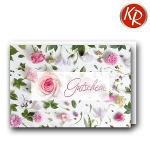 Faltkarte  Gutschein 65-0027