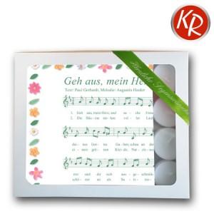 """Geschenkbox Servietten """"Geh aus mein Herz""""  75-0003"""
