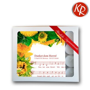 """Geschenkbox Servietten """"Danket dem Herrn""""  75-0004"""