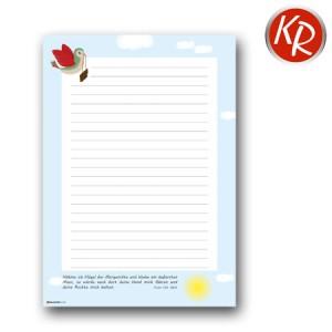 Briefpapier Block A4  77-4002