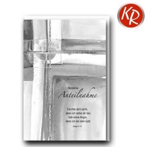 Faltkarte Trauer 80-0456