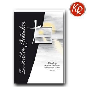 Faltkarte Trauer 80-0460