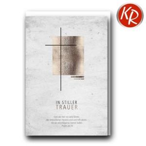 Faltkarte Trauer 80-0486