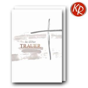 Faltkarte Trauer 80-0497