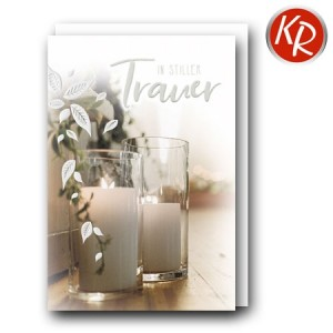 Faltkarte Trauer 80-0499