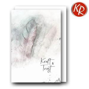 Faltkarte Trauer 80-0507
