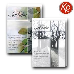 10er Serie Trauerkarten 85-0047