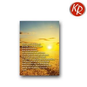 Postkarte Vaterunser 90-0074