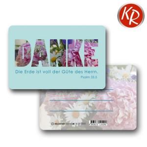20er-Pack Kleinkärtchen DANKE 90-0093